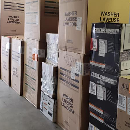 Our warehouse over flowing.  Must sell appliances NOW!